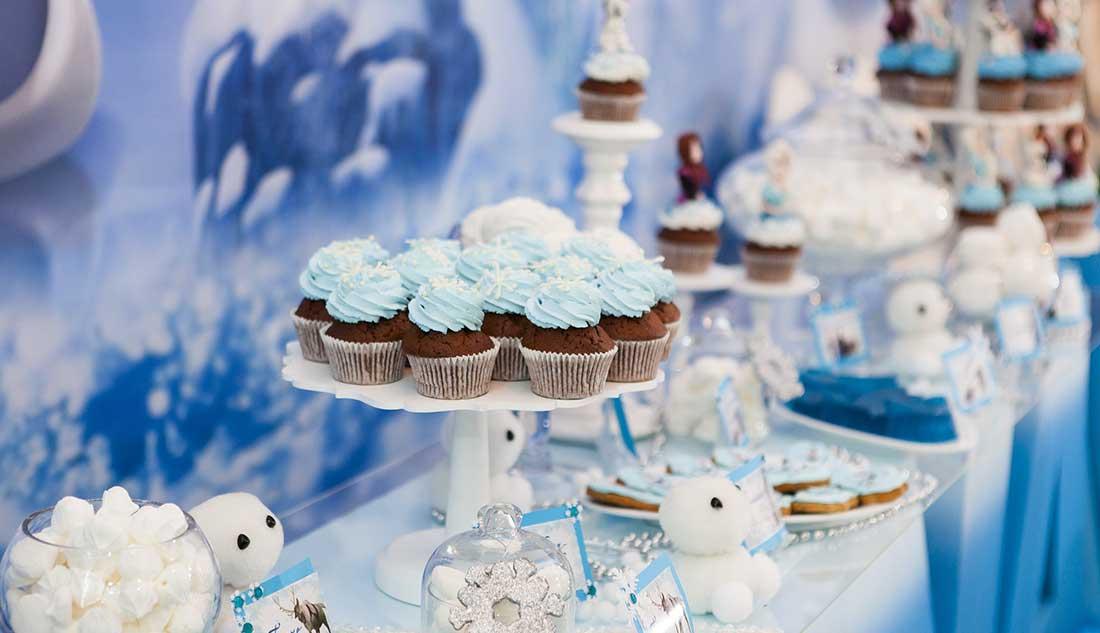 Mesas de dulces para primera comunión